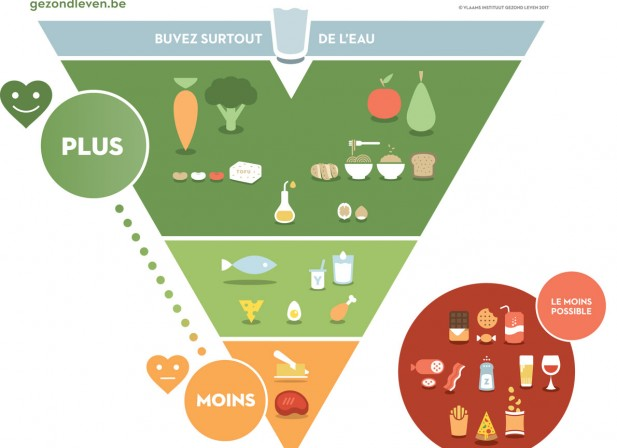 Des schémas pour guider nos assiettes