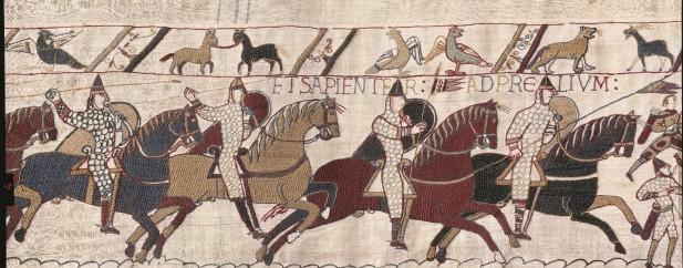 Représentation de la Tapisserie de Bayeux