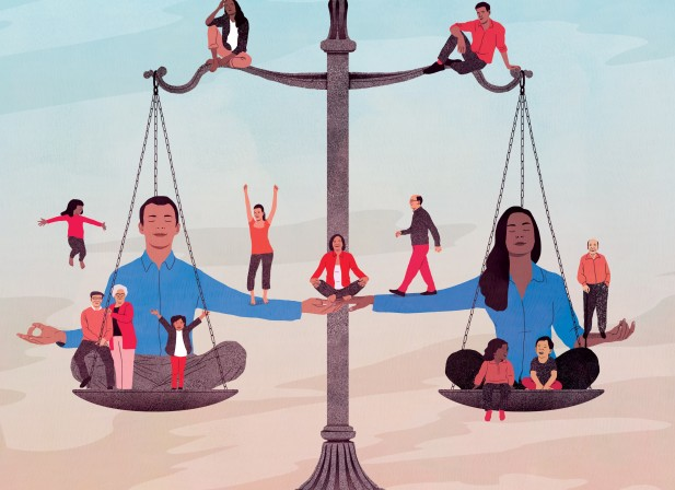 Pour vivre zen, vivons égaux